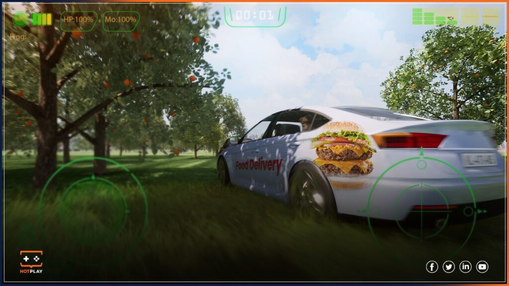 In-game advertising_Food delivery
